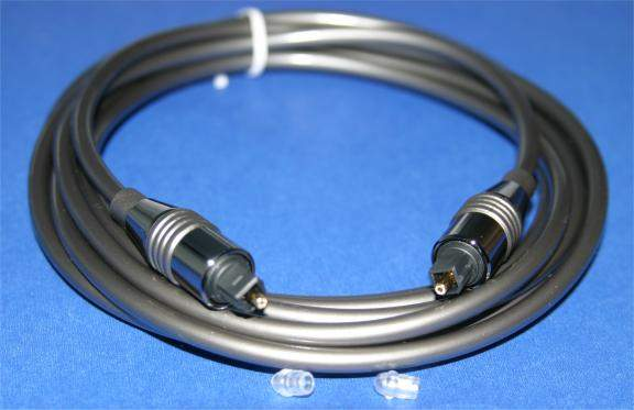 12FT TOSLINK-TOSLINK DIGITAL 5mm AUDIO CABLE