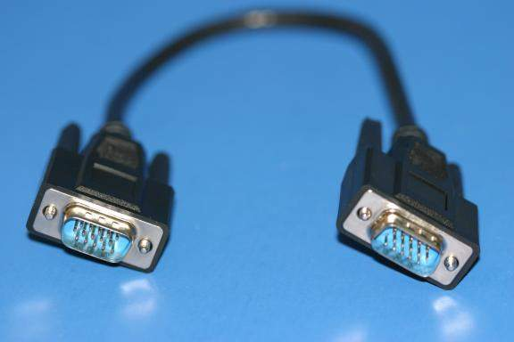 1FT Monitor Cable VGA HD15 Male to Male