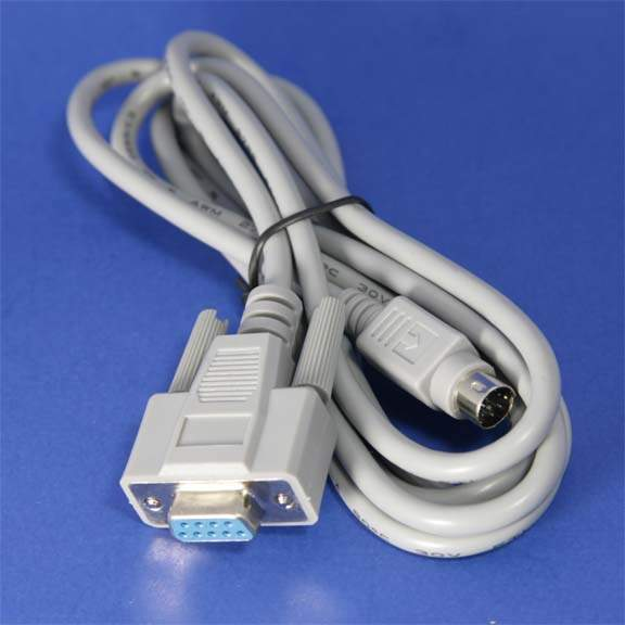 Serial cable - (DB-9) - F - 8 pin mini-DIN - M - 6 ft - PC