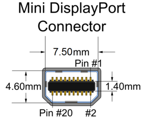 DisplayPort Connector